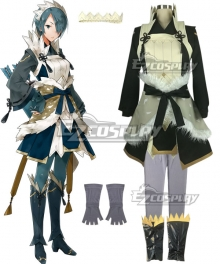 Fire Emblem Fates IF Setsuna Cosplay Costume