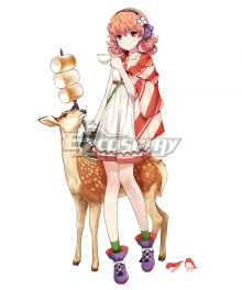 Fire Emblem Genny Cosplay Costume