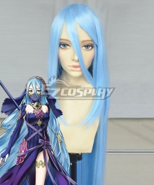 Fire Emblem Heroes Azura Blue Cosplay Wig