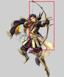 Fire Emblem: Heros Claude Almyra's King Bow Arrow Cosplay Weapon Prop
