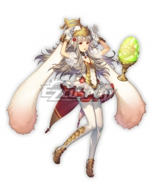 Fire Emblem: Heros Veronica Spring Princess Cosplay Costume - Not Including Hats and Bunny Ears