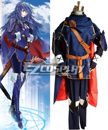 Fire Emblem Awakening Marth Lucina Cosplay Costume - Fighting Dress