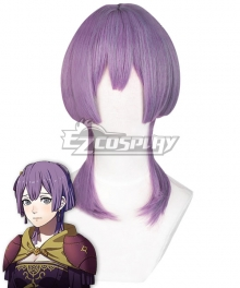 Fire Emblem: Three Houses 5 Years Bernadetta Timeskip Purple Cosplay Wig