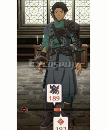 Fire Emblem Three Houses 5 Years Cyril Timeskip Cosplay Costume