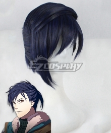 Fire Emblem Three Houses 5 Years Felix Timeskip Blue Cosplay Wig