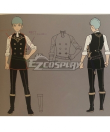 Fire Emblem: Three Houses Caspar Cosplay Costume