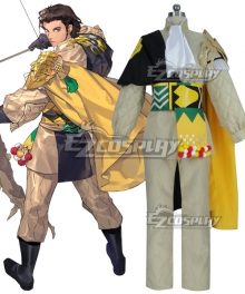 Fire Emblem: Three Houses Claude Von Regan New Edition Cosplay Costume