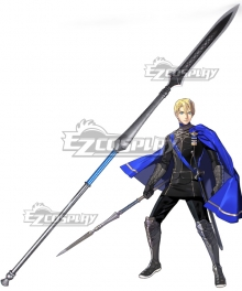 Fire Emblem: Three Houses Dimitri Alexandre Bladud halberd Cosplay Weapon Prop