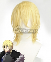 Fire Emblem: Three Houses Dimitri Alexandre Bladud New Edition Golden Cosplay Wig