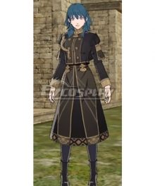 Fire Emblem Three Houses DLC Byleth Alternate Uniforms Female Evening Wear Cosplay Costume