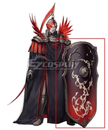 Fire Emblem: Three Houses Edelgard Flame Emperor Shiled Cosplay Weapon Prop