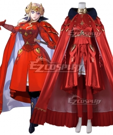 Fire Emblem: Three Houses Edelgard Von Hresvelg New Edition Cosplay Costume