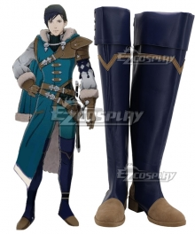Fire Emblem: Three Houses Felix Hugo Fraldarius 5 year skip Shoes Cosplay Boots