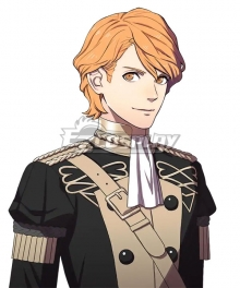 Fire Emblem: Three Houses Ferdinand Golden Yellow Cosplay Wig