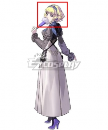 Fire Emblem: Three Houses indered Shadows Constance Golden Cosplay Wig