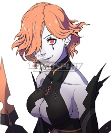 Fire Emblem: Three Houses Kronya Orange Cosplay Wig