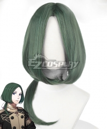Fire Emblem: Three Houses Linhardt Green Cosplay Wig