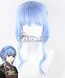Fire Emblem: Three Houses Marianne Blue Cosplay Wig