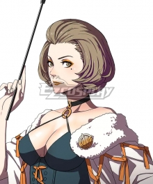 Fire Emblem: Three Houses Professor Manuela Brown Cosplay Wig