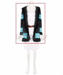 Fire Force Enen no Shouboutai Princess Hibana Coat Cospalay Costume