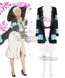 Fire Force Enen no Shouboutai Princess Hibana Cosplay Costume