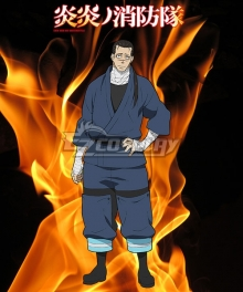 Fire Force Enen no Shouboutai Sagamiya Konro Cosplay Costume