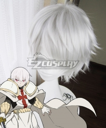 Fire Force Enen No Shouboutai Shou Kusakabe Silver Cosplay Wig