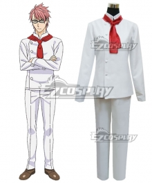 Food Wars Shokugeki no Soma Kojirō Shinomiya Cosplay Costume