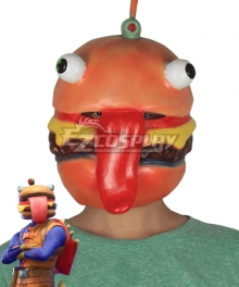 Fortnite Battle Royale Beef Boss Halloween Mask Cosplay Accessory Prop