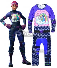 Fortnite Battle Royale Brite Bomber Childrenwear Dress Cosplay Costume