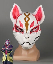 Fortnite Battle Royale Drift Halloween Latex Mask Cosplay Accessory Prop