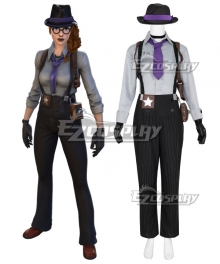 Fortnite Battle Royale Gumshoe Cosplay Costume