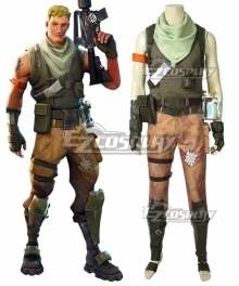 Fortnite Battle Royale Jonesy Soldier Cosplay Costume