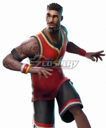 Fortnite Battle Royale Jumpshot Cosplay Costume