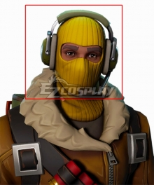 Fortnite Battle Royale Raptor Headset Cosplay Accessory Prop