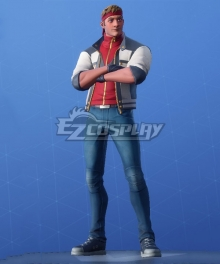 Fortnite Battle Royale Running Man Cosplay Costume