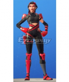 Fortnite Battle Royale Scarlet Serpent Cosplay Costume