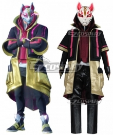 Fortnite Battle Royale  Drift Skins Halloween Child Cosplay Costume -  Child Size and No Mask