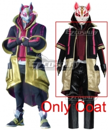 Fortnite Battle Royale Season 5 Drift Skins Halloween Cosplay Costume - Only Coat