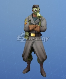 Fortnite Battle Royale Sky Stalker Halloween Cosplay Costume