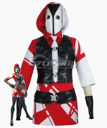 Fortnite Battle Royale The Ace Halloween Cosplay Costume - No Pantyhose