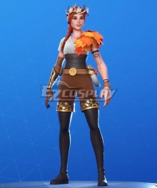 Fortnite Battle Royale The Autumn Queen Cosplay Costume