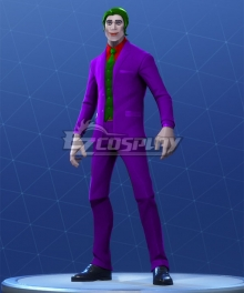 Fortnite Battle Royale The Joker Halloween Cosplay Costume
