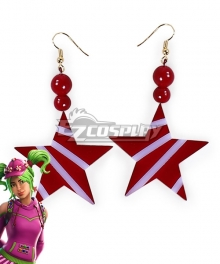 Fortnite Battle Royale Zoey Lollipop Earrings Cosplay Accessory Prop