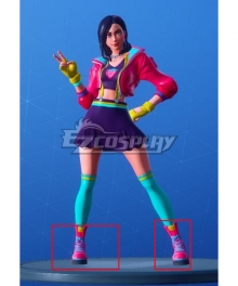 Fortnite Rox Pink Cosplay Shoes