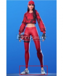 Fortnite Ruby White Cosplay Shoes