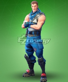 Fortnite Battle Royale Shadow Wildcard Cosplay Costume