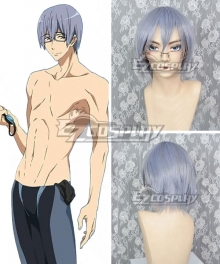Free! -Dive to the Future- Nao Serizawa Silver Gray Cosplay Wig