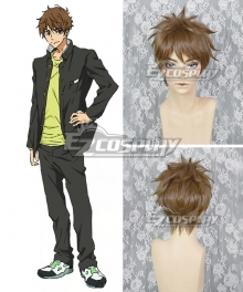 Free! -Dive to the Future- Natsuya Kirishima Brown Cosplay Wig