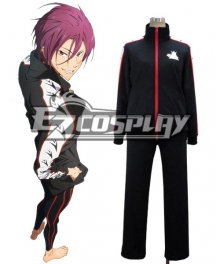 Free! Rin Matsuoka High School Uniform Cosplay Costume
